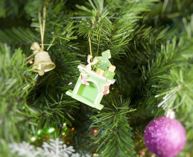 Новогодние украшения для дома: Камин 230-2 S Tree