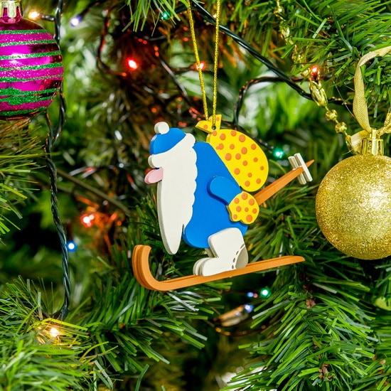 Елочные игрушки - Дед Мороз 650-3