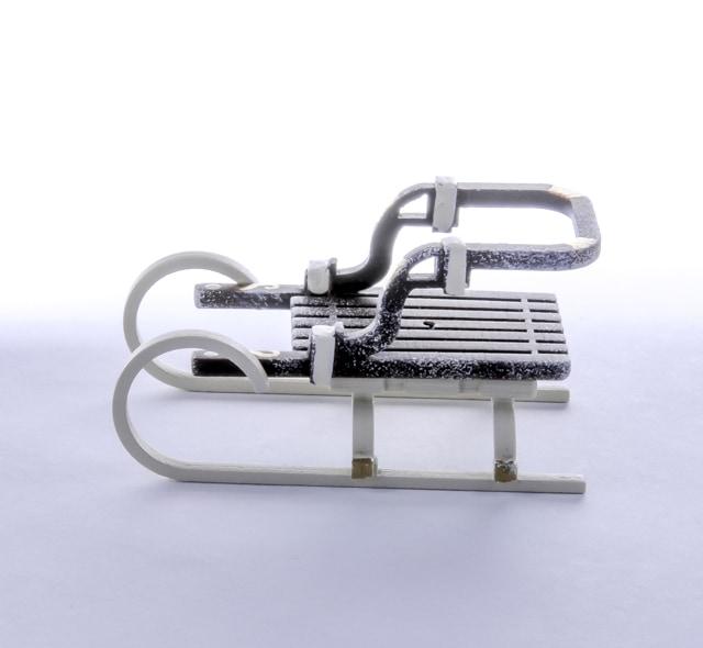 Елочная игрушка - Санки Большие 8028
