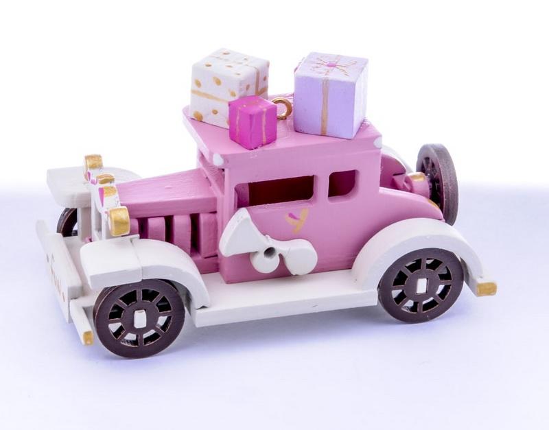 Новогоднее украшение: Машинка легковая 3015