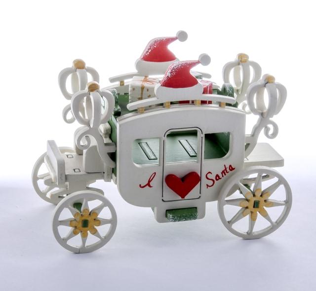 Карета крытая 6017 Heart Santa