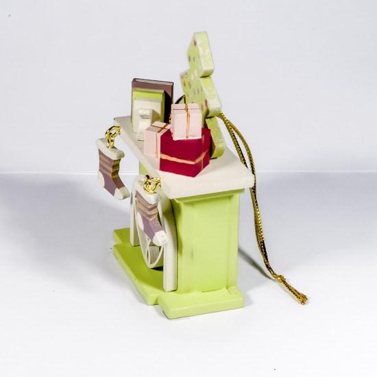 Елочная игрушка - Камин 90YY61_504 K Tree