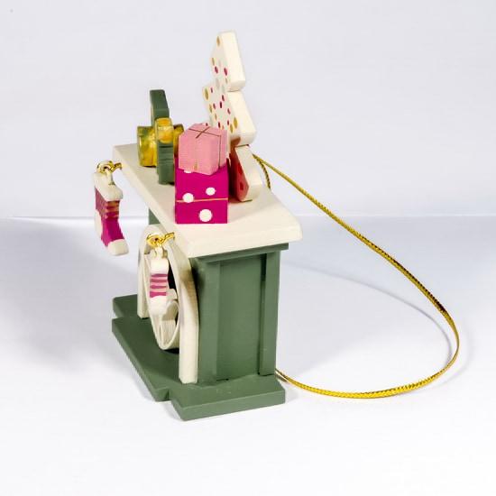 Елочная игрушка - Камин 6011 P Tree