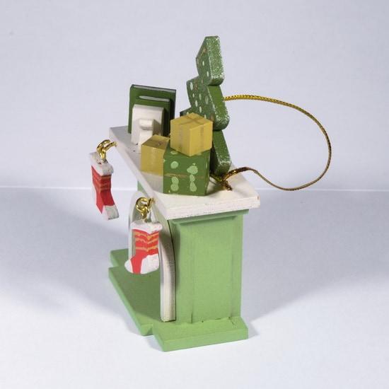 Елочная игрушка - Камин 230-2 K Tree