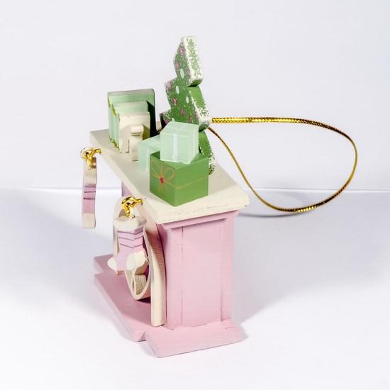 Елочная игрушка - Камин 3015 K Tree