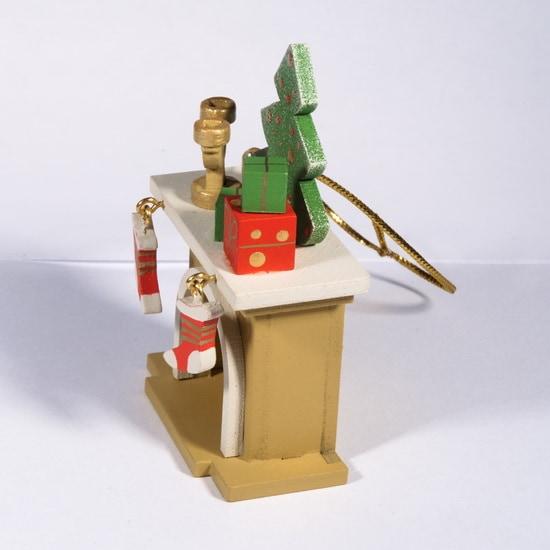 Елочная игрушка - Камин 290-3 S Tree