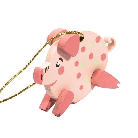 Символ 2019 года - Свинка копилка малая 490-1