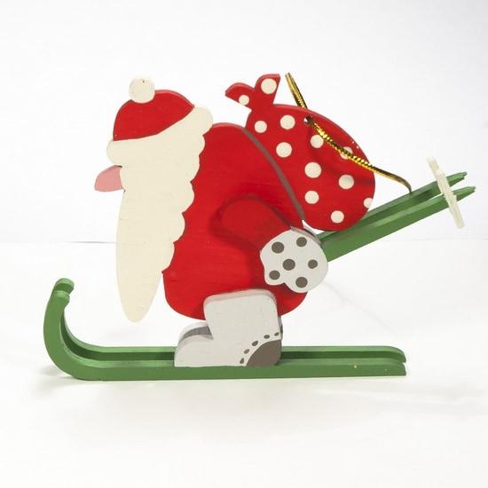 Елочные игрушки - Дедушка мороз 3020