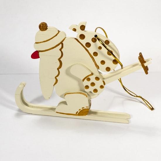 Елочные игрушки - Дед Мороз 1013