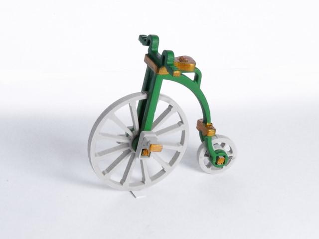 Елочная игрушка - Ретро Велосипед 6017 Classic