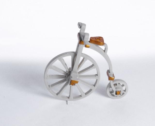 Елочная игрушка - Ретро велосипед 1013 Classic