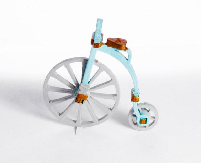 Елочная игрушка - Ретро велосипед 56GG64-25804 Classic
