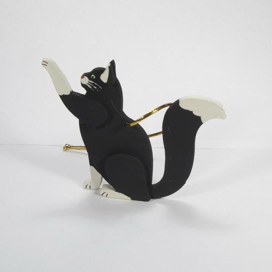 Новогодние украшения: Кошка сидящая 9005