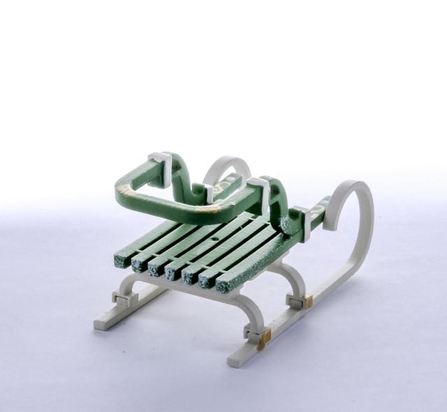 Елочная игрушка - Санки Большие 6017