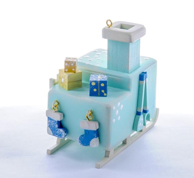 Елочные игрушки: Печка Русская 56GG64-25804