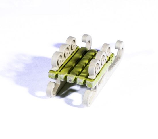 Елочные игрушки: Санки малые 90YY61-504 Twirl