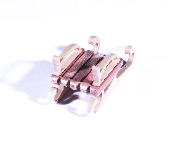 Елочная игрушка - Санки малые 3015 Classic