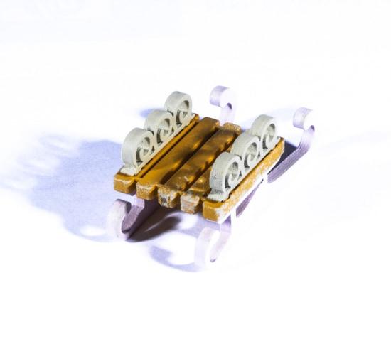 Елочные игрушки: Санки малые 370-1 Twirl