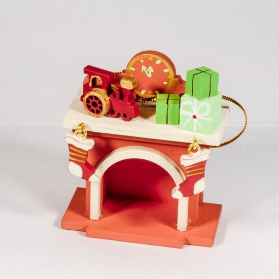 Елочная игрушка - Камин 410-3 P