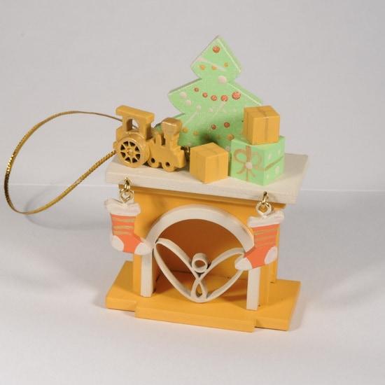 Елочная игрушка - Камин 370-1 P Tree
