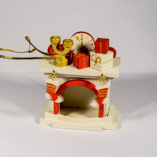 Елочная игрушка - Камин 1013 S