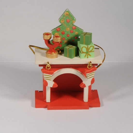 Елочная игрушка - Камин 3020 S Tree