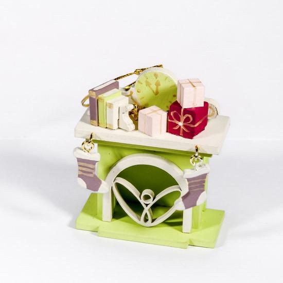 Елочная игрушка - Камин 90YY61_504 K
