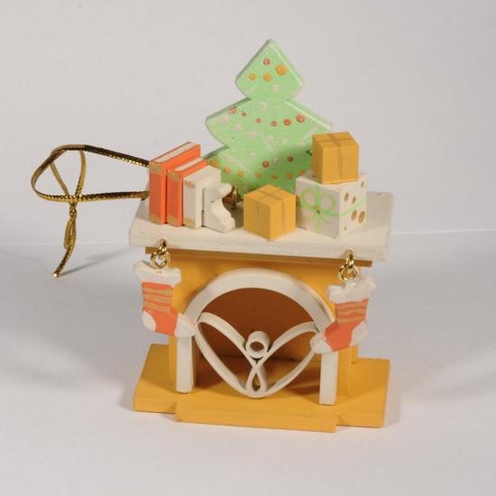 Елочная игрушка - Камин 370-1 K Tree