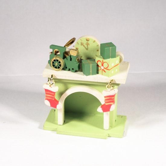 Елочная игрушка - Камин 90YY61_504 P