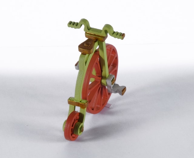 Елочная игрушка - Ретро велосипед 90YY61-504 Classic