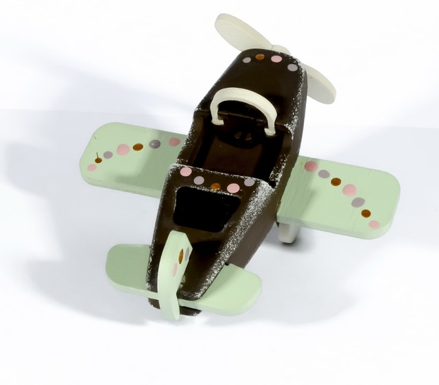 Елочная игрушка - Самолет Моноплан 8028
