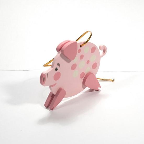 Новогодние украшения: символ 2019 года - Свинка копилка 490-1
