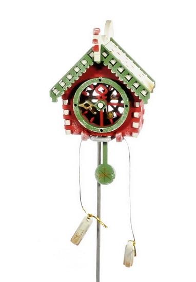 Елочные игрушки: Часы с маятником 3020
