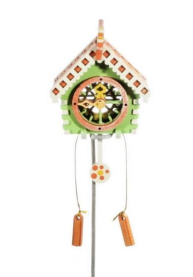 Новогоднее украшение: Часы с маятником 230-2