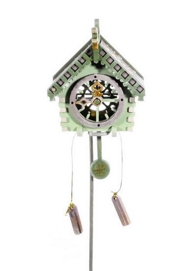 Новогодние украшения: Часы с маятником 760-2