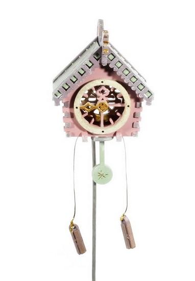Новогоднее украшение: Часы с маятником 3015
