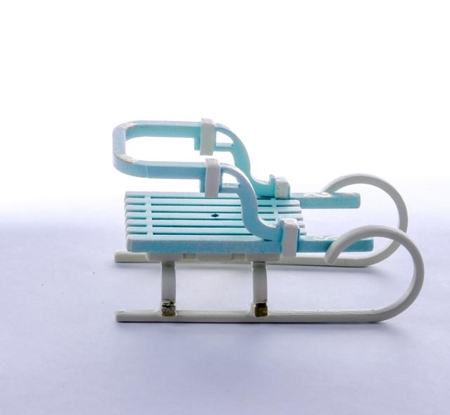Елочные игрушки: Санки Большие 56GG64-25804