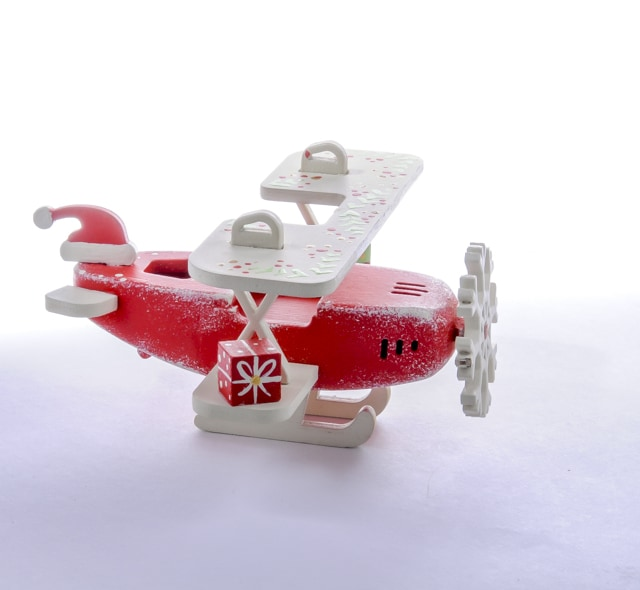 Самолет Биплан 3020 Santa Winter