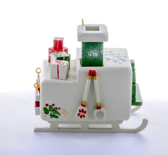 Елочные игрушки: Печка Русская 1013 Green