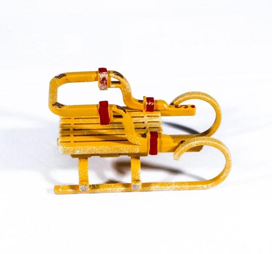 Елочные игрушки: Санки Большие 370-1