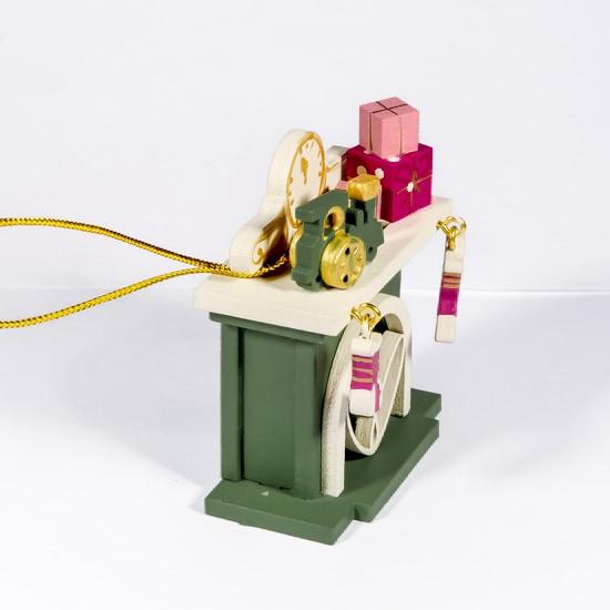 Елочная игрушка - Камин 6011 P