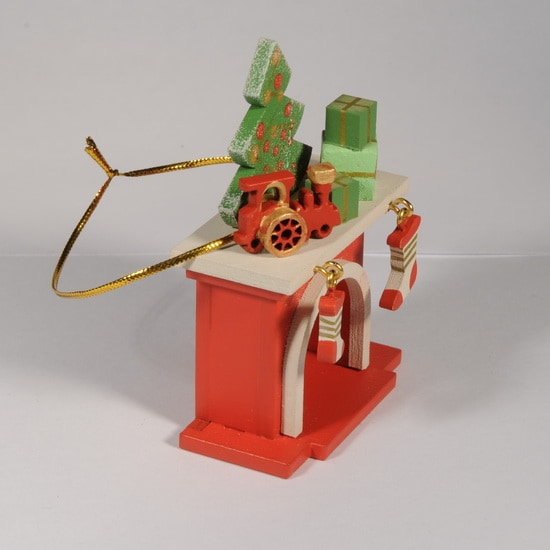 Елочная игрушка - Камин 3020 P Tree