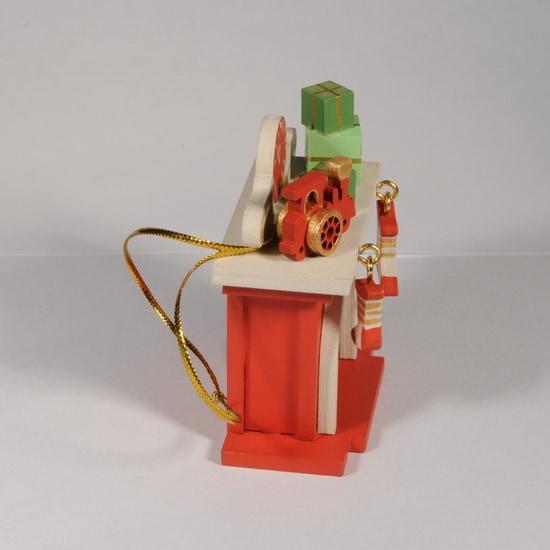 Елочная игрушка - Камин 3020 P