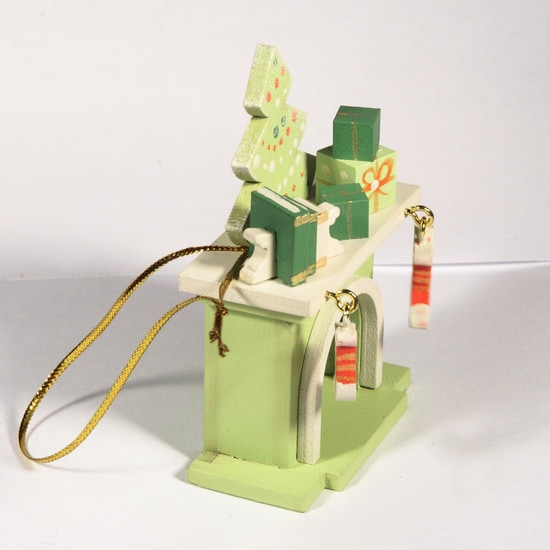 Елочная игрушка - Камин 90YY61/504 K Tree