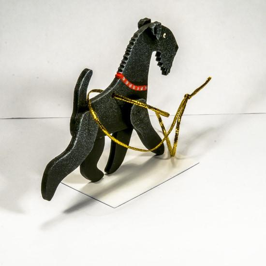 Елочные игрушки - Керри блю терьер 9005
