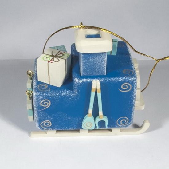 Ручные елочные игрушки: Печка Русская 650-3