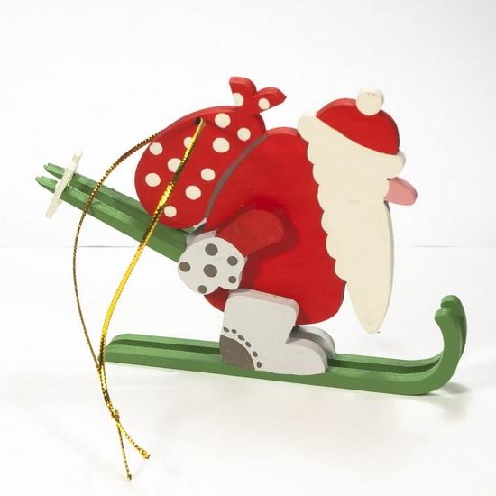Новогодние елочные игрушки - Дед Мороз 3020