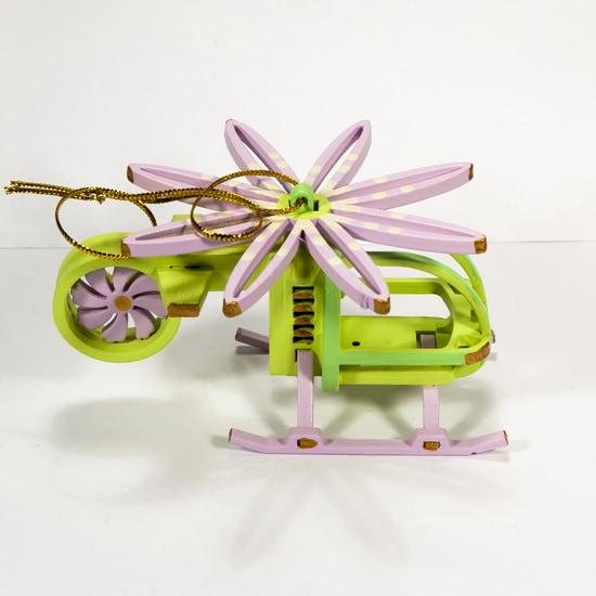 Елочная игрушка - Вертолет малый 90YY61_504