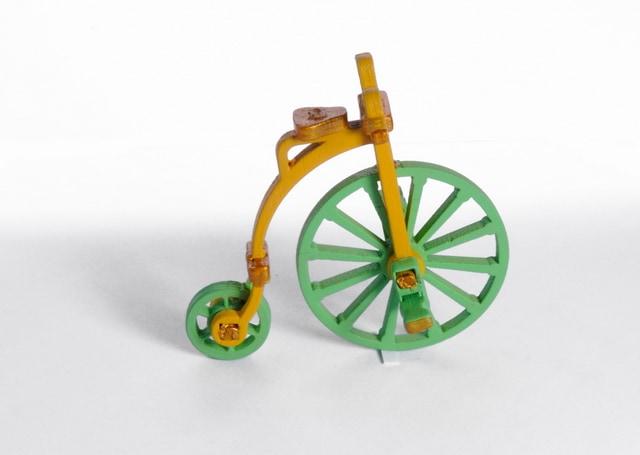 Елочная игрушка - Ретро велосипед 370-1 Classic