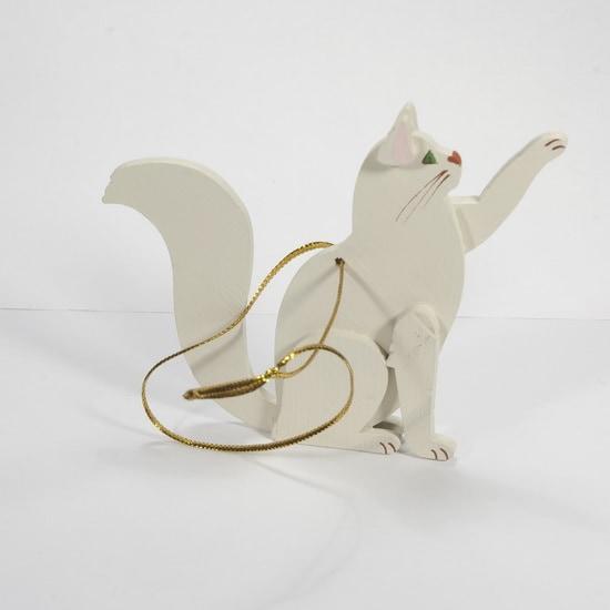 Новогодние украшения - Кошка сидящая 1013